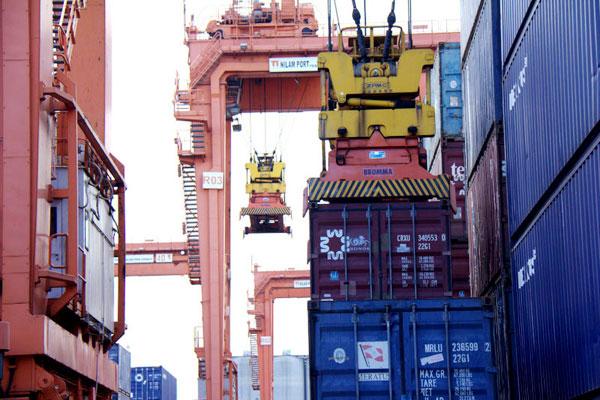 Ongkos kirim container 40 feet dari jakarta